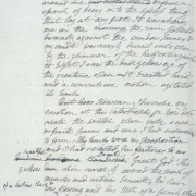 "Maunuskriptseite aus Mary Shelleys ""Frankenstein"", Quelle: Bodleian Library, University of Oxford; http://www.bodley.ox.ac.uk/dept/scwmss/frank2.html"