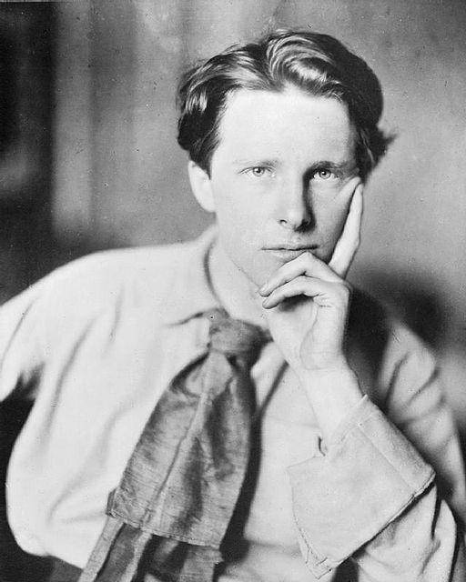 Rupert Brooke, Foto Q 71073 aus der Sammlung des Imperial War Museums, Quelle: Wikipedia