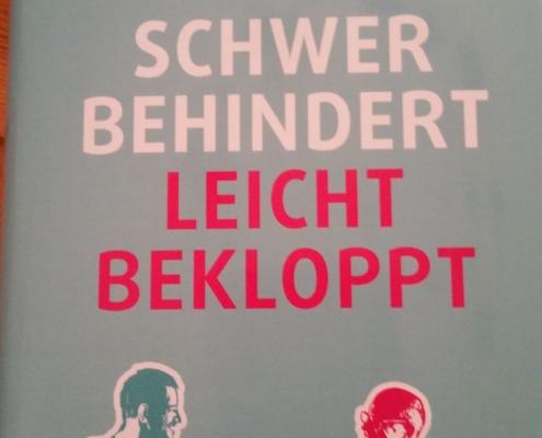 """Cover """"Schwer behindert - Leicht bekloppt"""""""