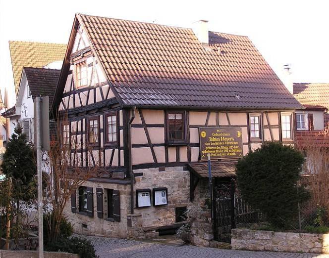 Tobias Mayer Geburtshaus, Foto: Dr. Volker Hirschel