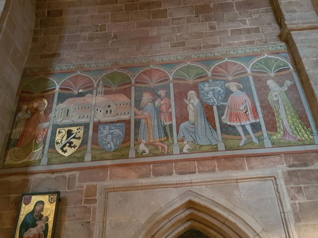 Stiftungsbild, wohl spätes 15. Jahrhundert