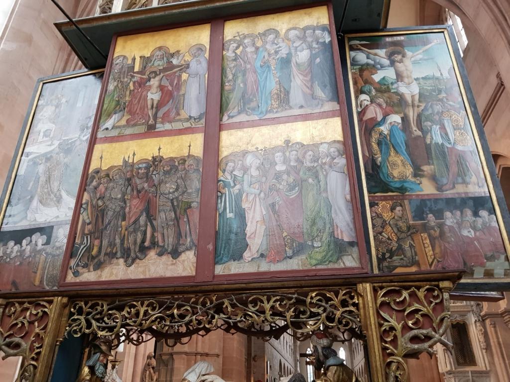 Rückseite des Choraltars aus dem Jahr 1504