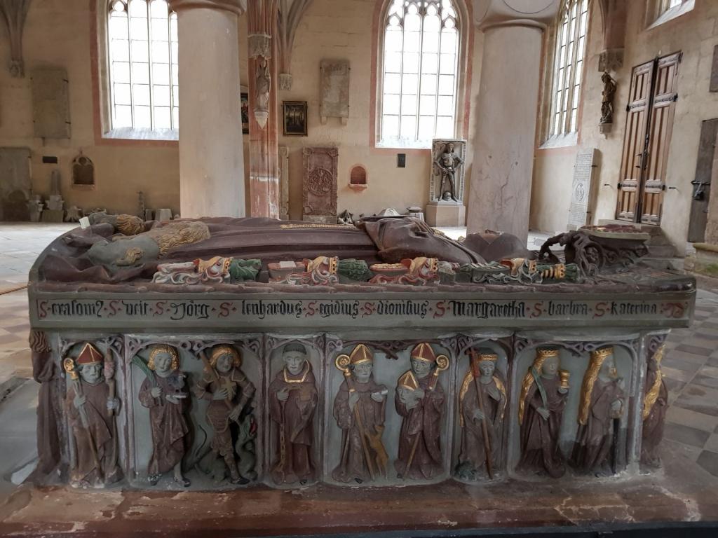 Hochgrab der Kurfürstin Anna