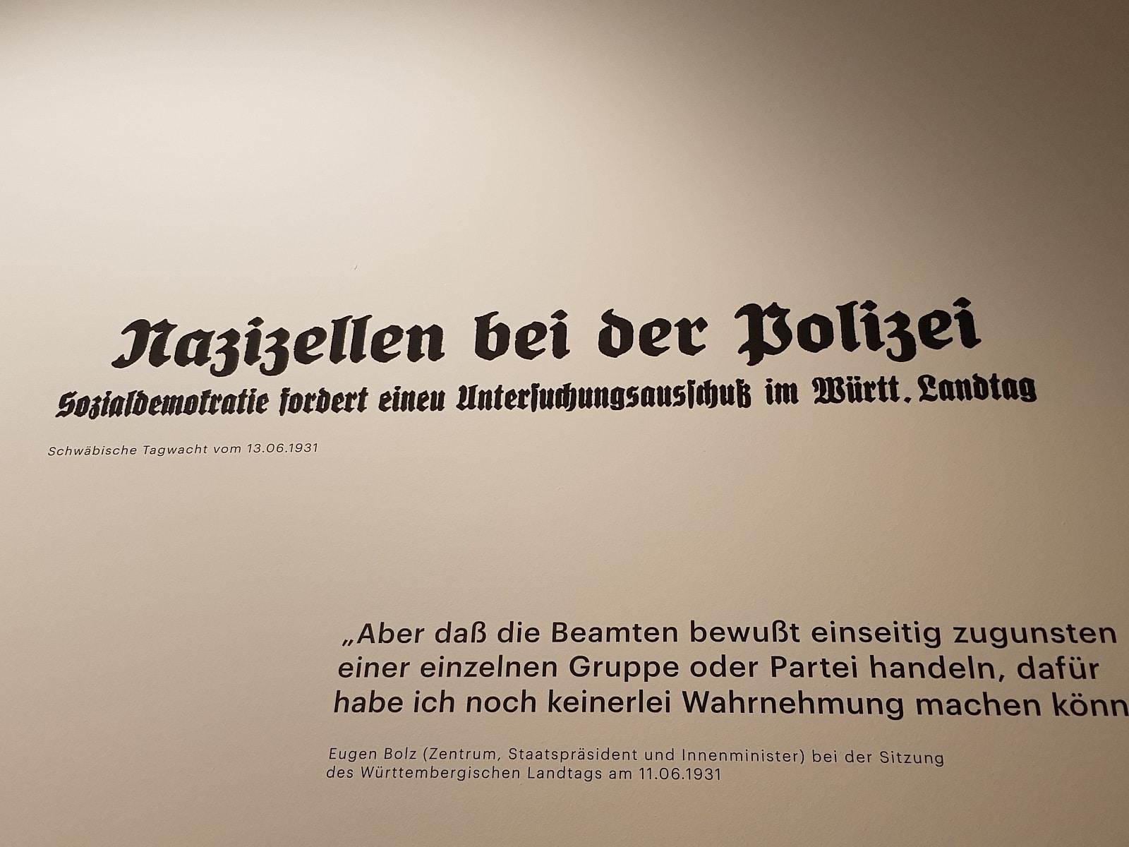 Die Polizei als Hüter der Weimarer Republik