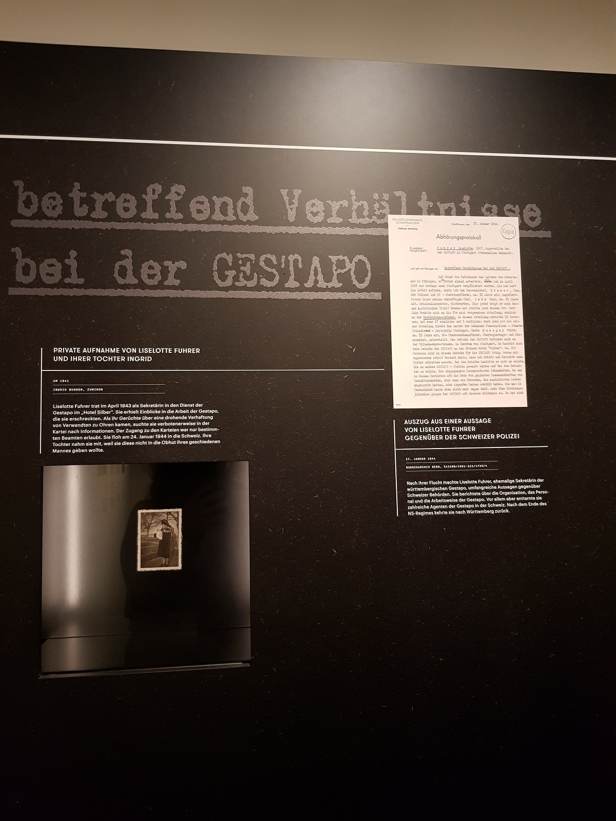 Die Geschichte der Lieselotte Führer