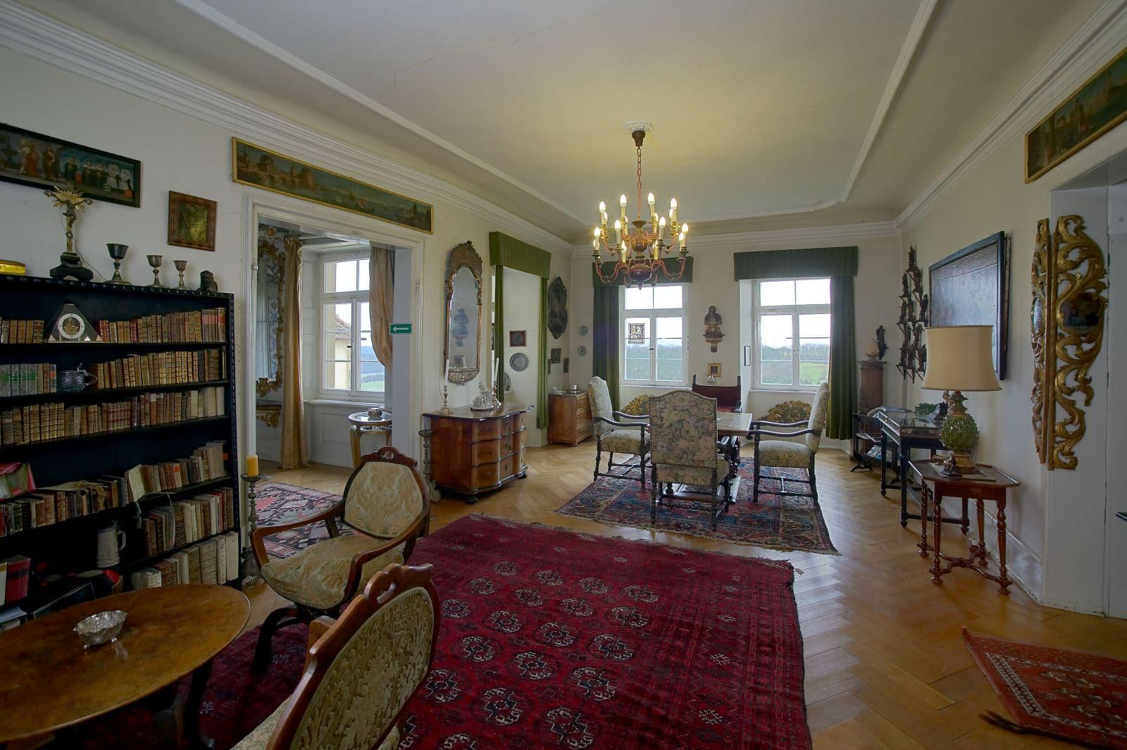 Beletage, @ Schloss Hohenstadt