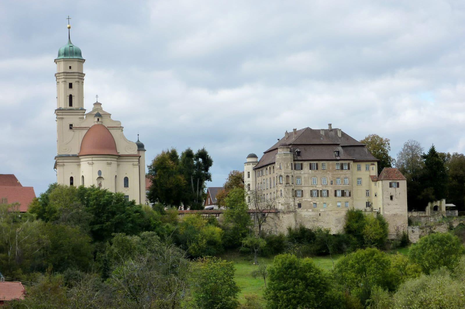 Schloss und Wallfahrtskirche Hohenstadt, @ Schloss Hohenstadt