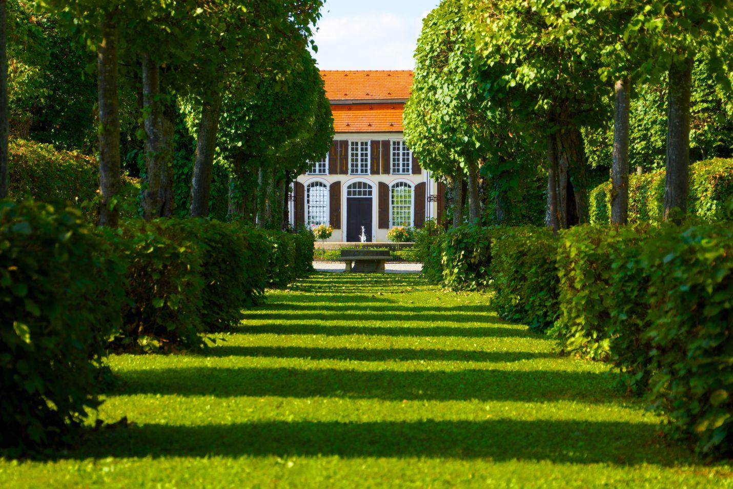 Im Schlossgarten, @ Schloss Hohenstadt