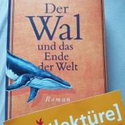 Cover und eine Lesezeichen, das eine Frage thematisiert