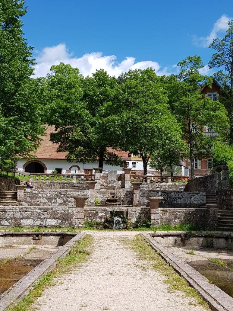Barocke Gartenanlage in Kloster Allerheiligen