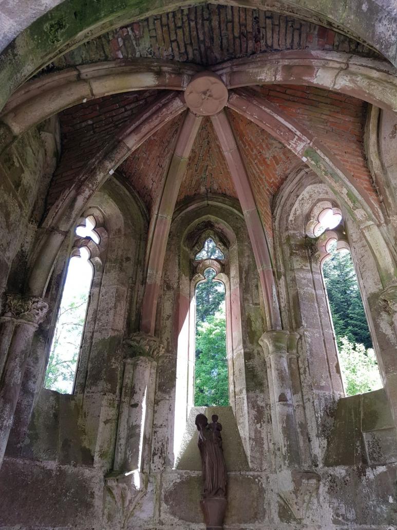 Klosterruine Allerheiligen, Seitenkapelle des südlichen Querschiffs