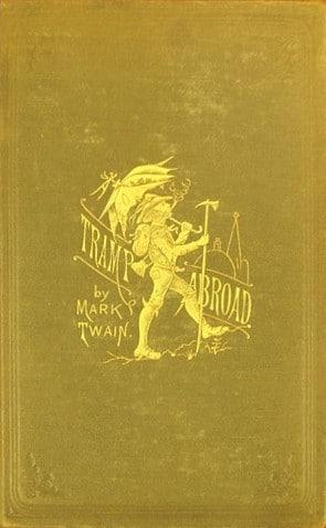 Cover der Erstausgabe von Mark Twains