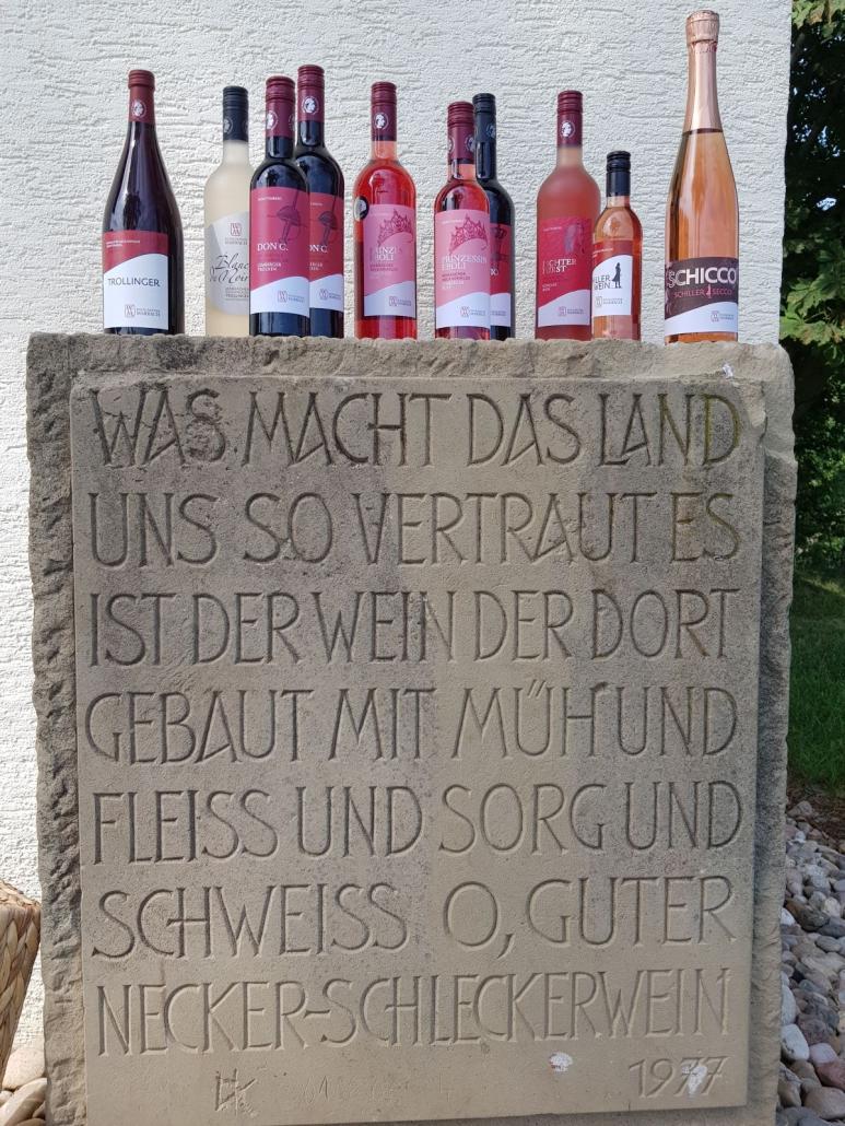 Am Weinberghäusle der Marbacher Weingärtner