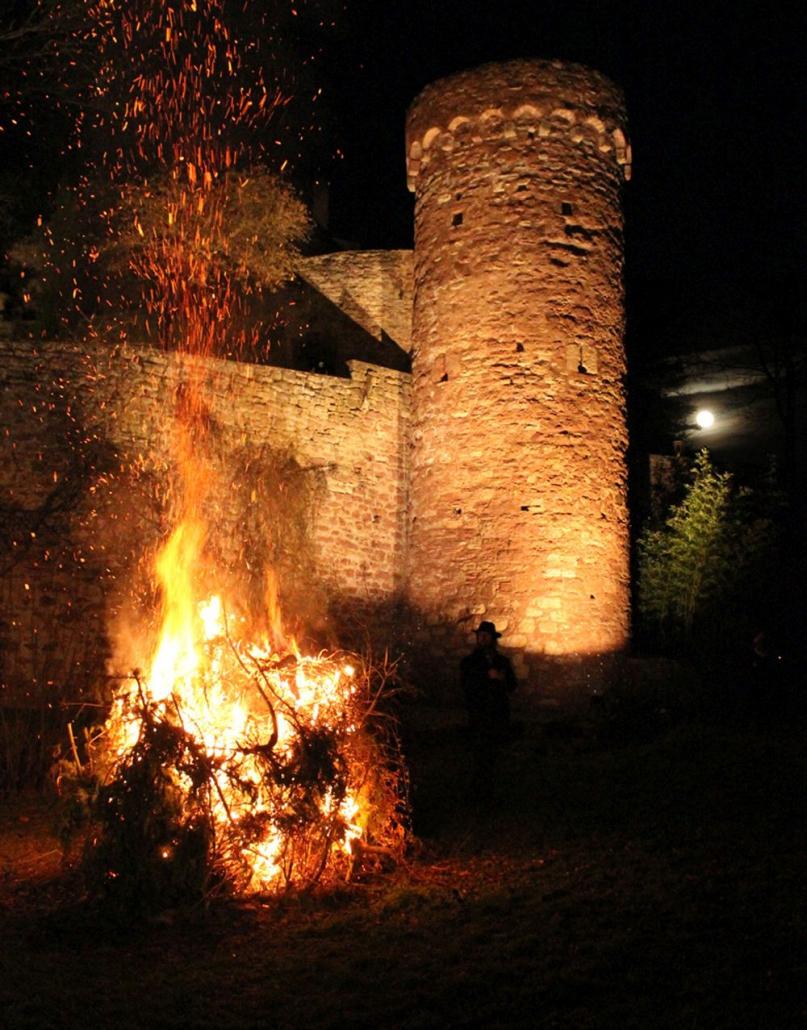 Burg Gamburg: Veranstaltung Geisterlesung
