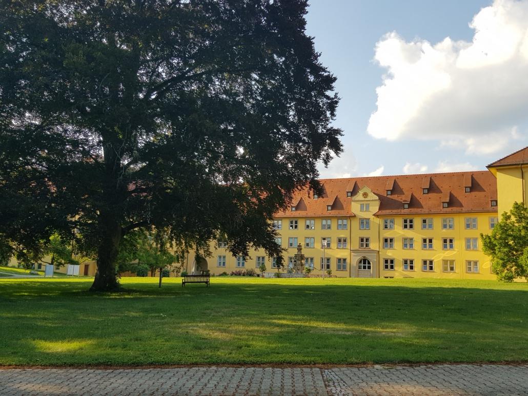 Schloss Winnental, Rückseite