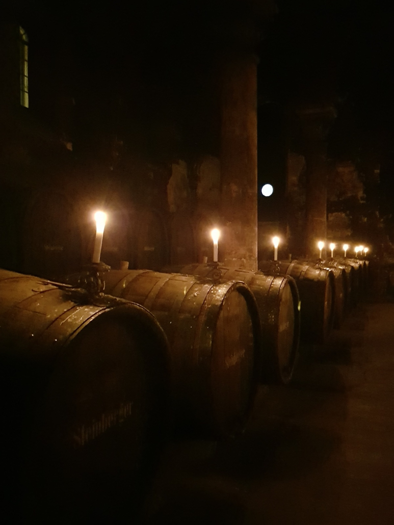 Im ehemaligen Hospital von Kloster Eberbach - Wein als Lebenselexier