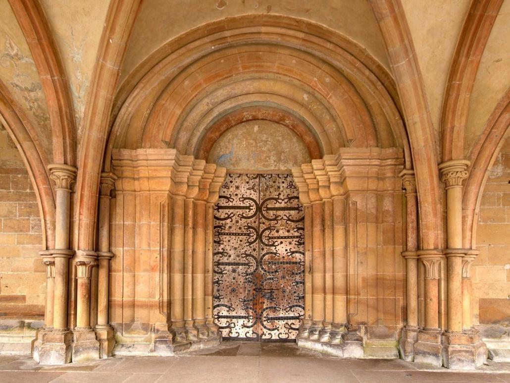 Kirchenpforte in Kloster Maulbronn
