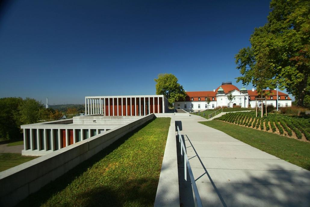 Schiller-Nationalmuseum und Literaturmuseum der Moderne (LiMo) in Marbach am Neckar