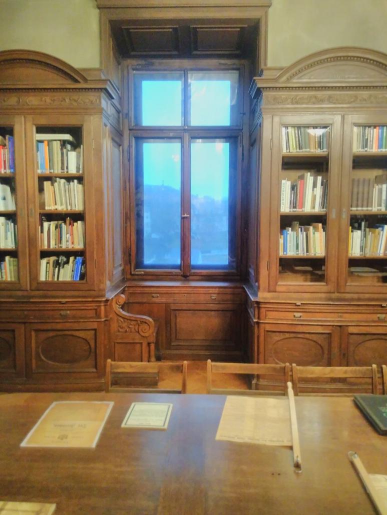 Schloss Altenburg - Bibliothek