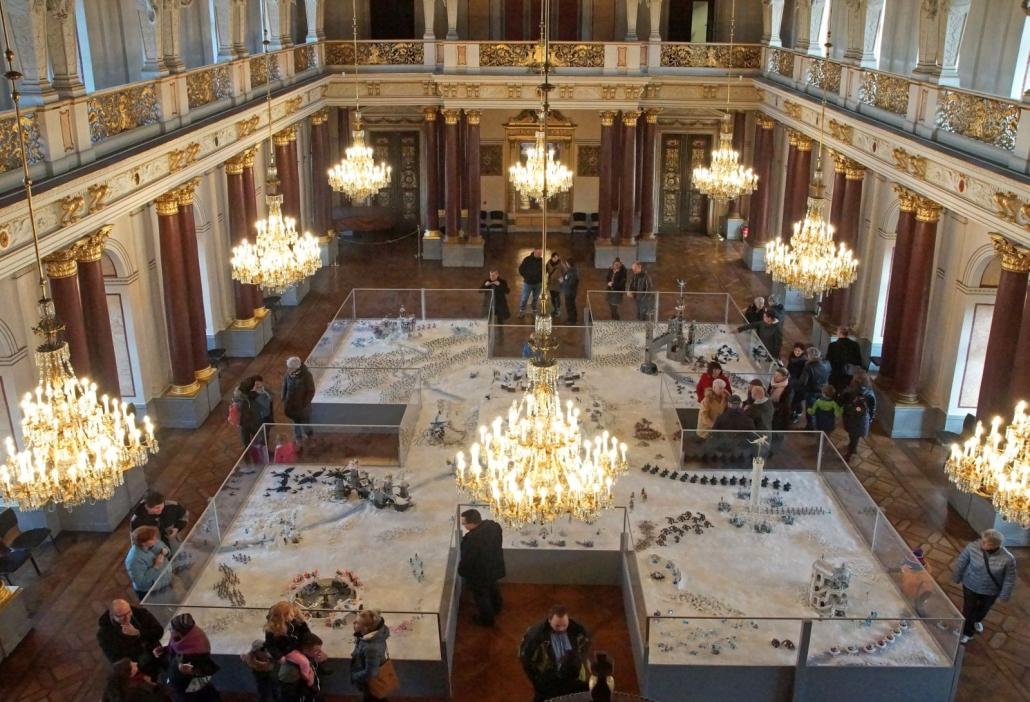 Playmobil-Austellung im Festsaal, (c) Schloss Altenburg, Sammlung Oliver Schaffer
