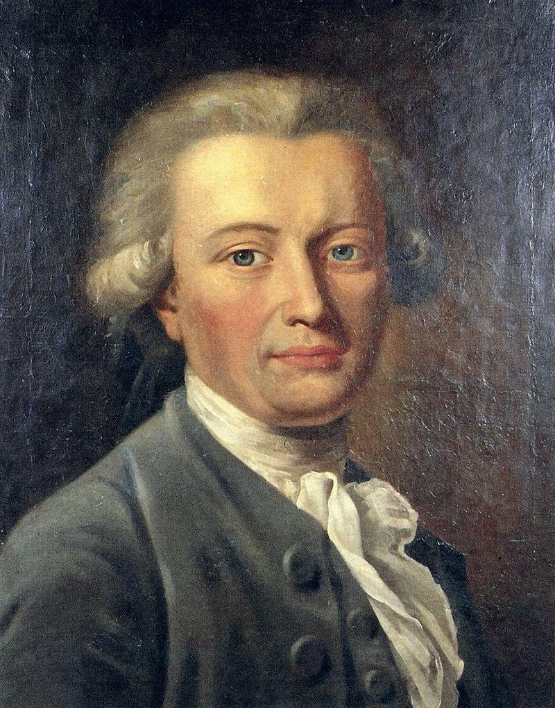 Georg Forster, Gemälde von Unbekannt (Johann Heinrich Wilhelm Tischbein?)