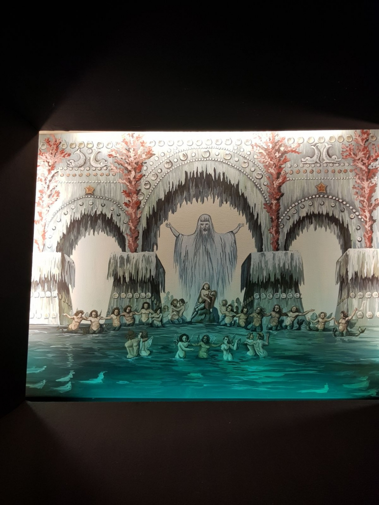 """Nachgestellt: Uraufführung der """"Undine"""" 1816 im Berliner Nationaltheater"""