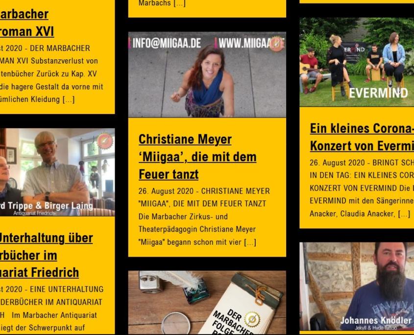 MARBACH HANDELT - die Schillerstadt zeigt sich ihrer Vielfalt
