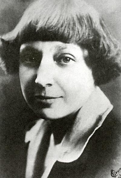 Marina Iwanowna Zwetajewa 1925