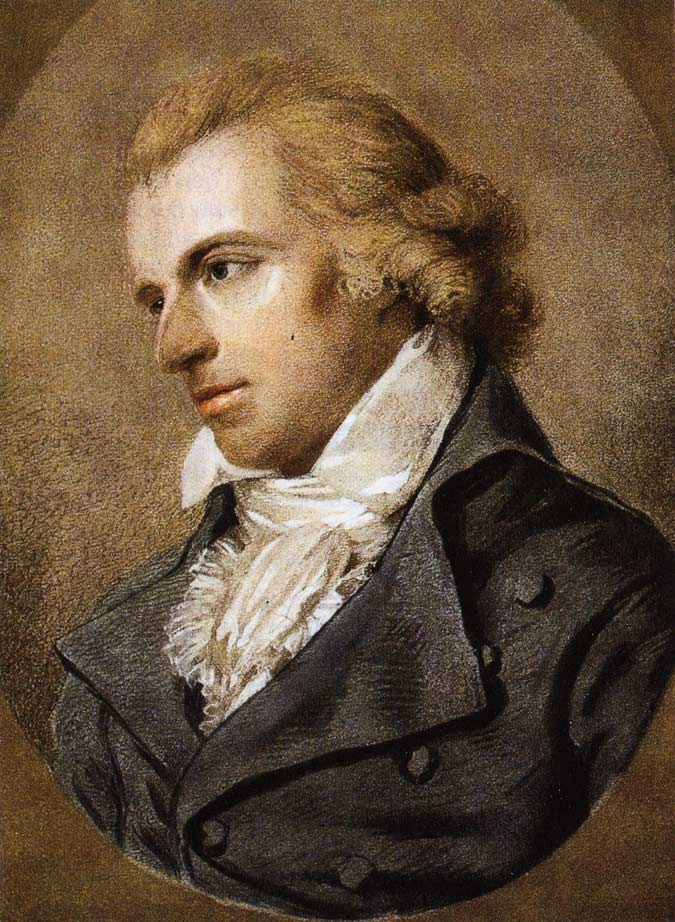 Friedrich Schiller - Porträt von Ludovike Simanowiz